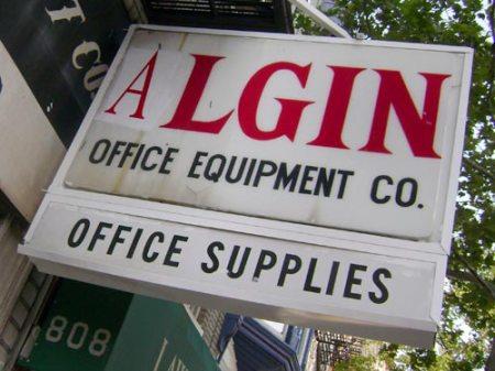 Algin Office Equipment