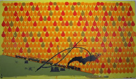 Autumn Train by Charley Harper