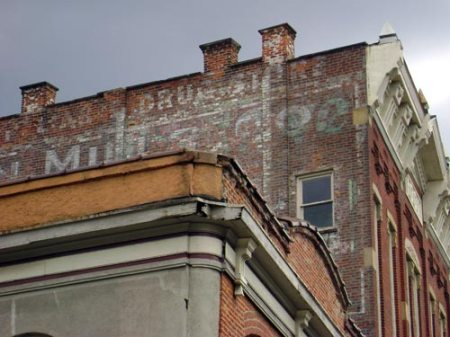 ghost sign in Columbus