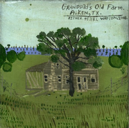 Granddad's Old Farm by Esther Pearl Watson