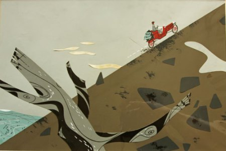 Hillside by Charley Harper