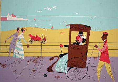 Rickshaw by Charley Harper
