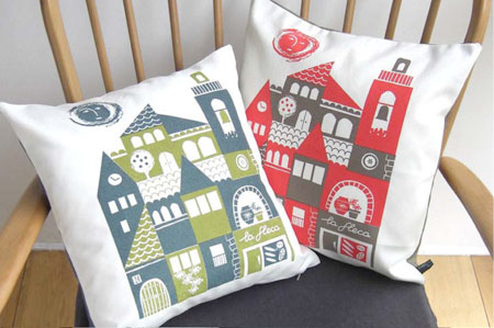 Sardana pillows by roddy&ginger