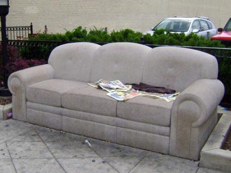 Limestone Sofa by Robert Huff