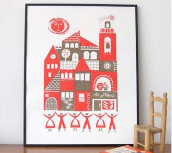 Sardana print by roddy&ginger