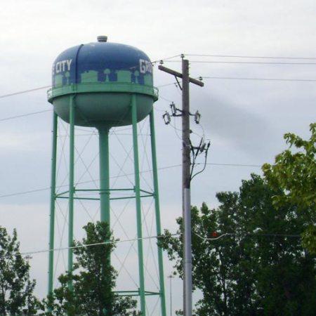 Ohio water tower