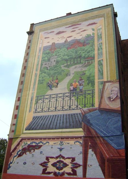 Emanuel Center Mural by Scott Donaldson