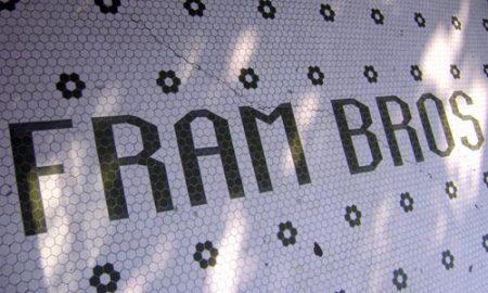 Fram Bros. tile in Newport