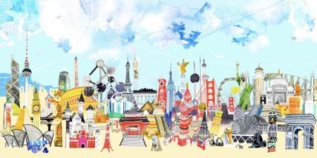 city illustration by Hennie Haworth