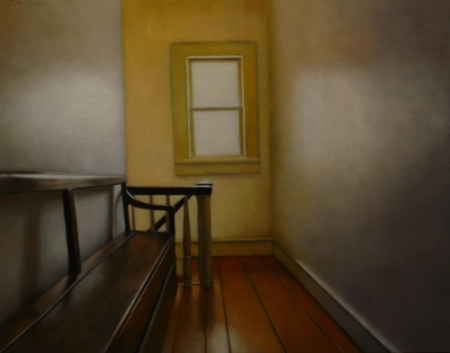 Hallway with Bench by Nick Patten