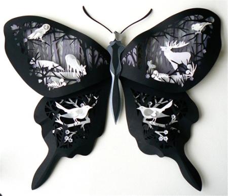 papercut by Helen Musselwhite