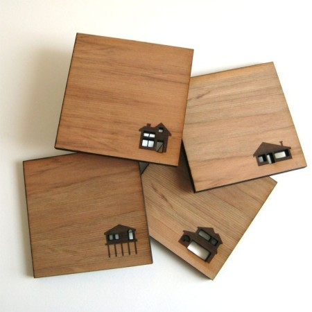 Home Coasters by Jen Pepper