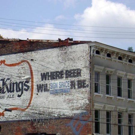 Little Kings Ghost Sign in the West End