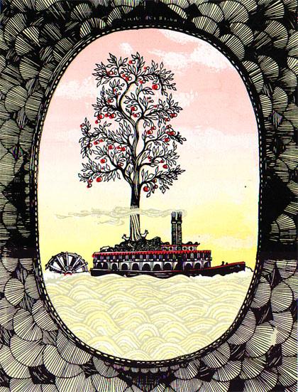 Tree Boat by Daria Tessler