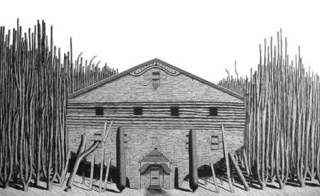 Woodlot Mansion by Luke Painter