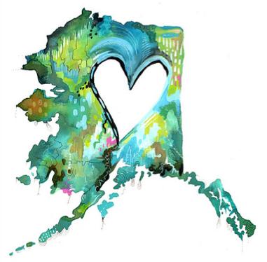 Alaska by Katie Daisy Lombardo