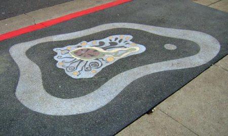 Amoebic Public Art in San Francisco