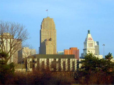 downtown Cincinnati from the West Side