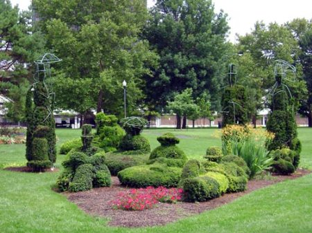 The Topiary Park in Columbus