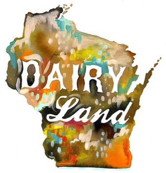 Wisconsin by Katie Daisy Lombardo