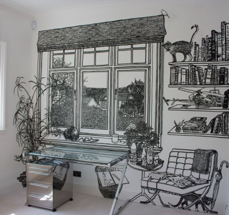 Interior Mural by Charlotte Mann