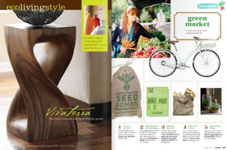 Midwest Seed Bombs in Lonny Magazine