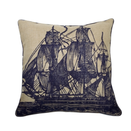 Seafarer Pillows by Thomas Paul