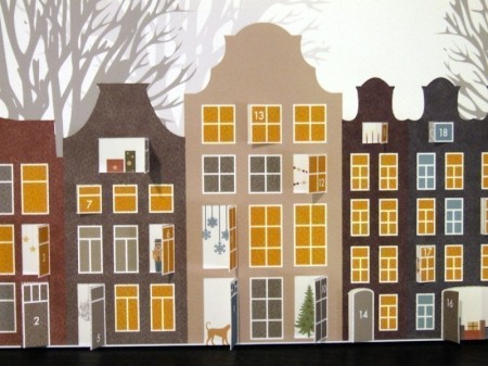 Amsterdam advent calendar by Nouveau Designs