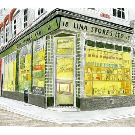 Lina Stores by Christine Berrie