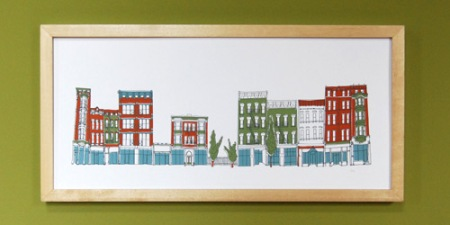 Vine St. print by VisuaLingual