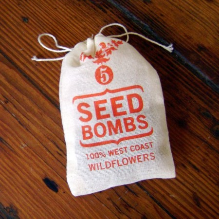 West Coast Seed Bombs by VisuaLingual