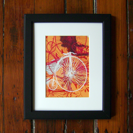 victorian penny farthing make ready prints by visualingual