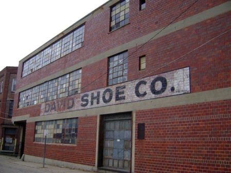 David Shoe Co. Ghost Signage in the West End