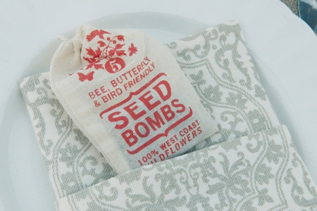 VisuaLingual Seed Bombs in a Wedding!
