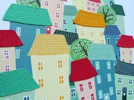 detail of City Living by Laura Amiss