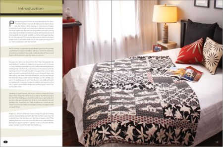 VisuaLingual Home in a Quilting Book