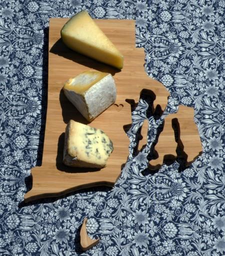 Rhode Island Silhouette Cutting Board by AHeirloom