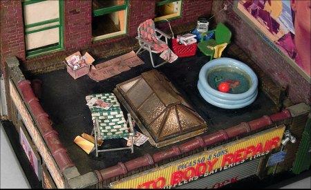 Brooklyn Rooftop by Alan Wolfson