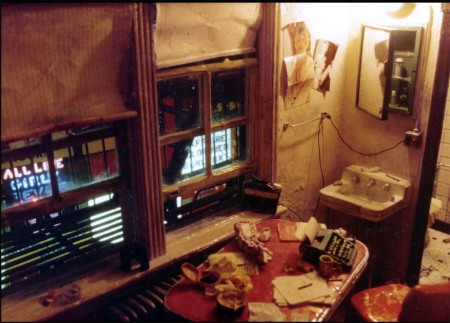 Times Square Hotel Room by Alan Wolfson
