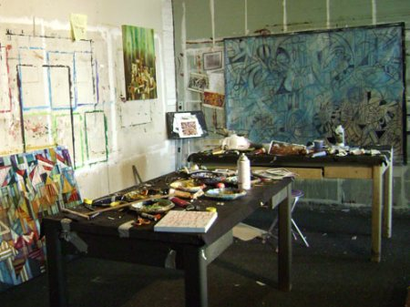 the studio of Cedric Michael Cox