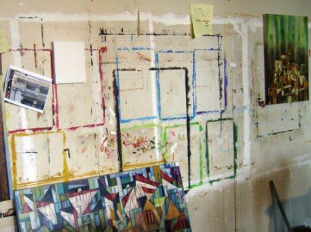 the studio of Cedric Michael Cox