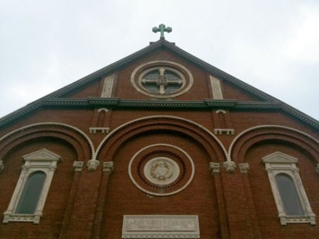 Holy Cross Church in Mt. Adams, Cincinnati