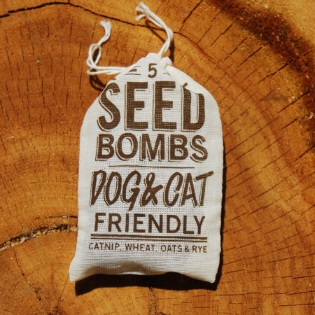 Dog & Cat Friendly Seed Bombs by VisuaLingual