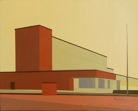 Bauhaus, Hendersonville, NC by Marcia Alscher