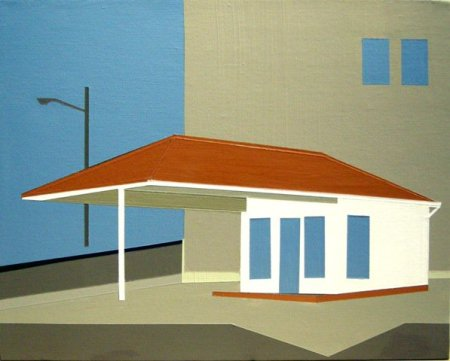 Gas Station, Newport, KY by Marcia Alscher