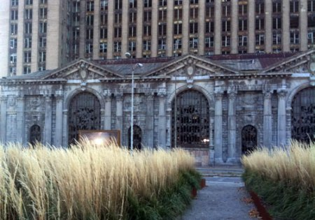 Roosevelt Park in Detroit