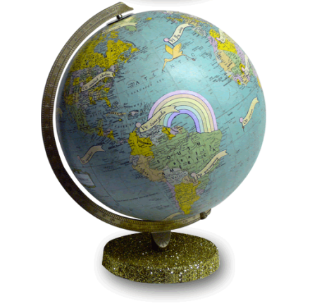 Imaginenations globes by wendy gold department of everyday imaginenations globe by wendy gold gumiabroncs Images