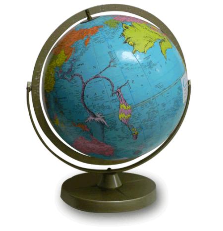 imaginenations globe by wendy gold