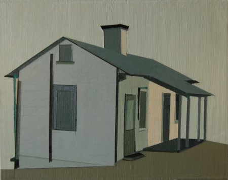 Slave House, Flat Rock, NC, Carl Sandburg Farm by Marcia Alscher