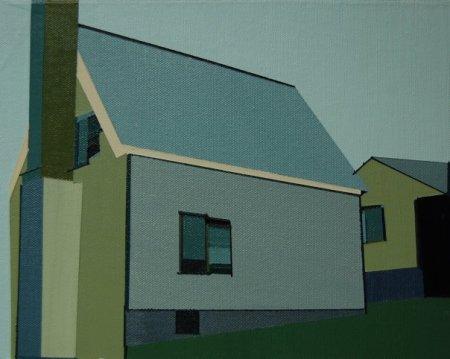 Swiss House, Flat Rock, NC, Carl Sandburg Farm by Marcia Alscher